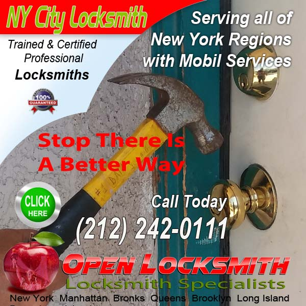 Lock Repair Locksmith – Open Locksmith Call 212-242-0111