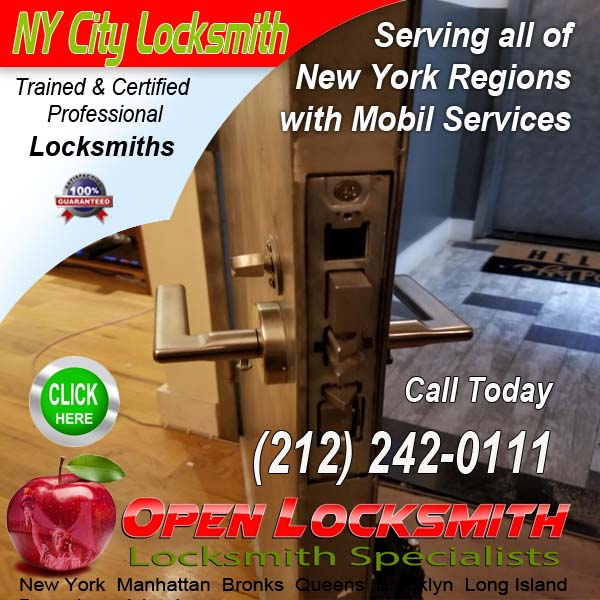 Door Repair – Open Locksmith Call 212-242-0111