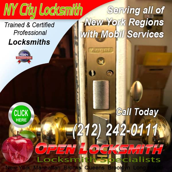 Commercial Lock Repairs – Open Locksmith Call 212-242-0111