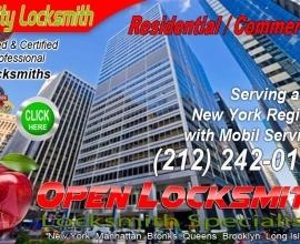 Locksmith Manhattan Financial 10005 Call 212-242-0111